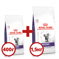Royal Canin Neutered Satiety Balance 1,5+0,4кг- корм для стерилізованих кішок1