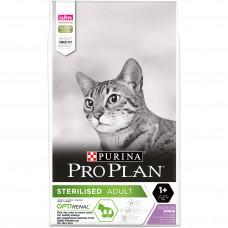 Purina Pro Plan Sterilised 10кг-корм для стерилізованих котів з індичкою1