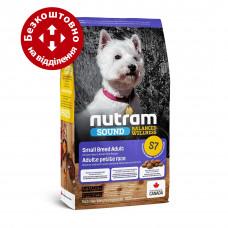 S7 Nutram Sound Balanced Wellness® Small Breed Adult Natural Dog 20кг - корм для собак мелких пород1