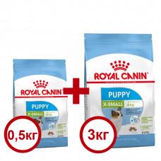 Royal Canin X-Small Puppy 3+0,5кг - корм для цуценят мініатюрних розмірів1