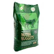 Nutra Nuggets Indoor Hairball 10кг-корм с выведением шерсти для домашних котов1