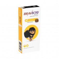 Бравекто Жувальна таблетка для захисту собак від кліщів і бліх 2-4.5 кг1