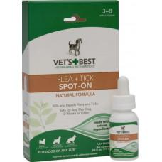 Vet`s Best калі від бліх і кліщів 17,7мл для собак і цуценят (піпетка-дозатор)1