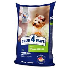 Клуб 4лапы Премиум класса 14 кг для собак мелких пород1