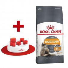 Royal Canin Hair&Skin 4кг-корм для взрослых кошек с проблемной кожей и шерстью1