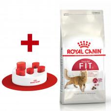 Royal Canin Fit 4кг сбалансированный корм для кошек1