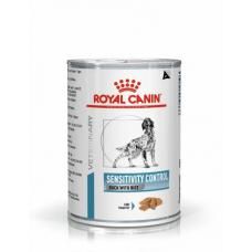 Royal Canin Sensitivity Control Duck&Rice 6шт*420г-консерва для собак с уткой при пищевой аллергии1