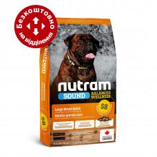 S8 Nutram Sound 11,4кг корм для собак крупных пород1
