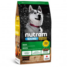 S9 Nutram Sound Adult Lamb Natural 2кг- корм для собак на основе ягненка1