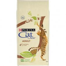 Cat Chow Adult 15кг корм для кошек с уткой1