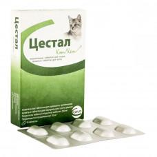 Цестал кэт (Cestal cat ) - для котов, со вкусом печени, 1 таблетка ( Ceva, Венгрия)1