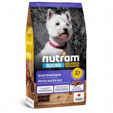 S7 Nutram Sound Balanced Wellness® Small Breed Adult Natural Dog 2кг - корм для собак мелких пород1