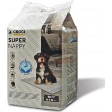 Пеленки для собак Croci Super Nappy 50шт (60*60см)1