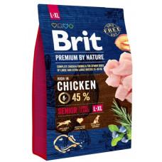 Brit Premium Senior L + XL 3 кг для літніх собак великих порід1