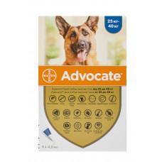 Advocate капли для собак весом от 25кг,1 пипетка( Bayer)1