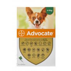Advocate краплі для собак вагою до 4кг, 1 піпетка (Bayer)1