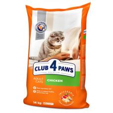 Клуб 4 лапи Преміум з куркою корм для кішок 14кг1