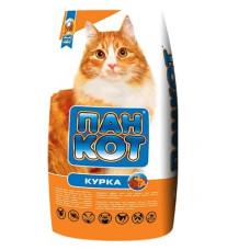 Пан-Кот курица Сухой корм для взрослых кошек 10кг1