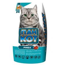 Пан-Кот РЫБА Сухой корм для взрослых кошек 10кг1