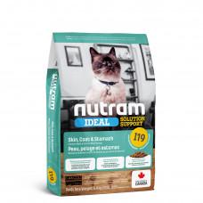 I19 Nutram Ideal Solution Support 320 г-корм для кошек с проблемами кожи, шерсти и пищеварения1