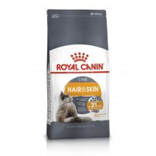 Royal Canin Hair&Skin 2кг -корм для взрослых кошек с проблемной кожей и шерстью1