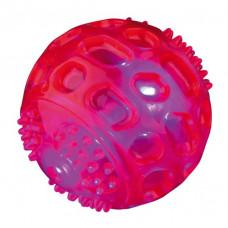 Trixie TX-33643 мяч мигающий 7,5см (термопластичный каучук)1