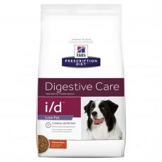 Hills Prescription Diet Canine i/d Low Fat 12кг-диета ЖКТ для собак (1809)1