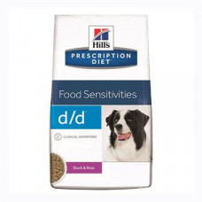 Hills Prescription Diet Canine d/d (утка и рис)-корм для собак 2кг1