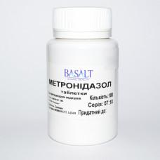 Метронидазол 250 мг №100 табл. антибиотик широкого спектра действия (Basalt)1