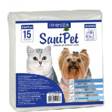 Пеленки для собак 60х45см (15шт).Пеленки для собак на каждый день.1