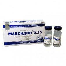 Максидин 0,15 (Maxidin 0,15)-глазные капли (упаковка 5 флаконов)1