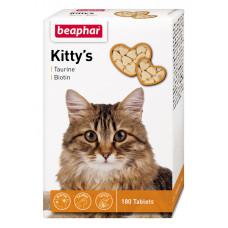 Beaphar Kittys Taurin and Biotin Витамины для кошек, 180 таб (12578)1