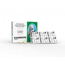 Каниверм ( Caniverm ) для щенков и котят 6таблеток( Bioveta, Чехия )1