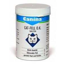 Canina Cat Fell O.K. пищевая добавка с биотином для кошек 100таб (201525)1