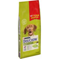 Purina Dog Chow Adult Lamb 14 + 2,5 кг з ягням корм для собак від 1 до 5 років1