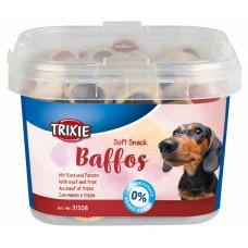 Trixie TX-31508 мягкое лакомство для собак мелких пород 140г (говядина,желудок)1