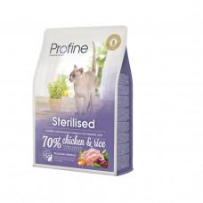Profine Cat Sterilised 2 кг для стерилизованных и кастрированных кошек и котов1