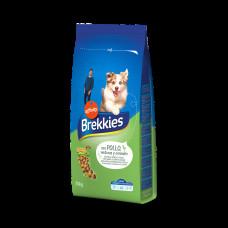 Brekkies Dog with Chicken 20 кг - корм для собак з куркою1