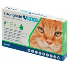 Zoetis Stronghold plus стронгхолд для кошек от 5 до 10 кг (1 пипетка)1