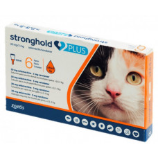 Zoetis Stronghold plus Стронгхолд для кішок від 2,5 до 5 кг (1 піпетка)1