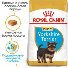 Royal Canin Yorkshire Puppy 0,5кг-корм для щенков породы йоркширский терьер1