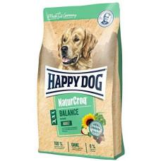 Happy Dog NaturCroq Adult Balance 15кг разнообразная смесь гранул1