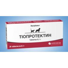Тиопротектин 0,1г 20 таблеток1