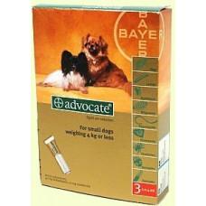 Advocate капли для собак весом до 4кг,1 пипетка (Bayer)1