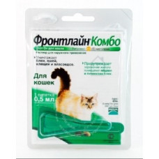Merial Фронтлайн Комбо капли для кошек (1 пипетка)1