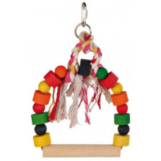 Trixie ТХ-5828 игрушка-качеля для птиц 13×19 см1