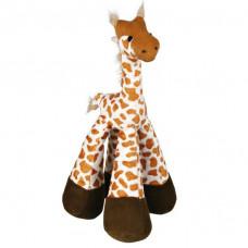 Trixie TX-35765 жираф 33см - игрушка для собак со звуком и погремушкой1
