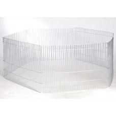 Лори вольер 6 секций для животных Ø 120 × 50 см1