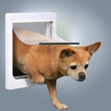 Trixie TX-3877- дверца для кошек и собак мелких пород (25 × 29 см),с металлической панелью1