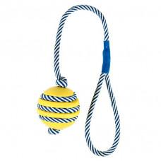 Trixie TX-34961 мяч с шипами (резина) на светящемся канате 5cм/40cм1